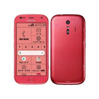 NTTdocomo - 未使用/最新モデル●らくらくスマートフォンF-42A★ピンク