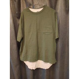 フリークスストア(FREAK'S STORE)のFREAK'S STORE サーマルレイヤード 半袖Tシャツ&タンクトップ(Tシャツ/カットソー(半袖/袖なし))