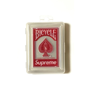 Supreme - Supreme 20aw Bicycle Clear Playing Cards