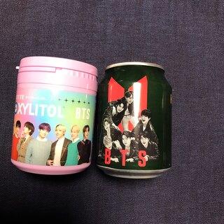 ボウダンショウネンダン(防弾少年団(BTS))のBTS HOT BRER 缶コーヒー&       キシリトール オールメンバー(K-POP/アジア)