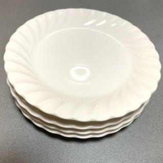 NIKKO - NIKKOさん お皿5枚 純白 昭和 未使用近
