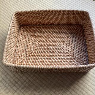 ムジルシリョウヒン(MUJI (無印良品))の無印良品 ラタンバスケット(バスケット/かご)