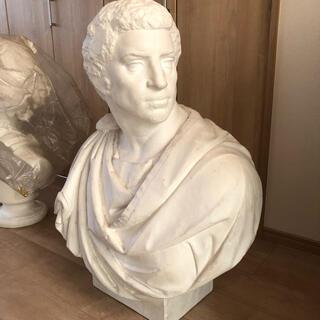 ブルータス 石膏像 胸像(彫刻/オブジェ)
