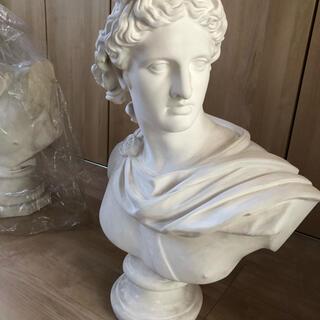 アポロン 石膏像 胸像(彫刻/オブジェ)