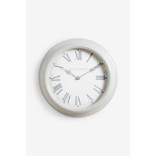 ローラアシュレイ(LAURA ASHLEY)のローラアシュレイ 壁掛け時計 グレー 35cm(掛時計/柱時計)