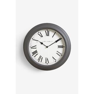 ローラアシュレイ(LAURA ASHLEY)のローラアシュレイ 壁掛け時計 チャコール 35cm(掛時計/柱時計)