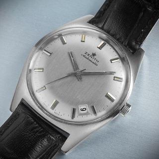 ゼニス(ZENITH)の(671) 極レア ★ ゼニス 自動巻き 1969年製 日差2秒 アンティーク(腕時計(アナログ))