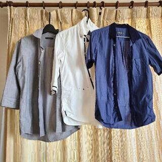 コムサイズム(COMME CA ISM)のシャツ7点セット メンズ(シャツ)