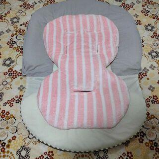 【送料込】フランネル調生地使用 新生児用インナークッション ハイローチェア(その他)