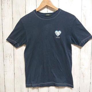 バーバリーブラックレーベル(BURBERRY BLACK LABEL)の希少ロゴ バーバリーブラックレーベル M Tシャツ ハートロゴ(Tシャツ/カットソー(半袖/袖なし))