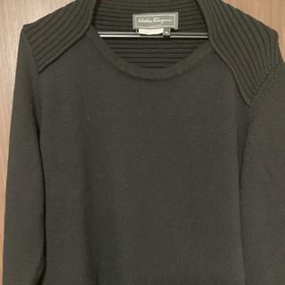サルヴァトーレフェラガモ(Salvatore Ferragamo)のサルヴァトーレ フェラガモ ニット セーター ブラック サイズM(ニット/セーター)