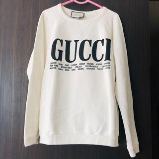 グッチ(Gucci)のGUCCI❤︎シティプリントトレーナー(トレーナー/スウェット)