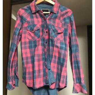 ローズバッド(ROSE BUD)のROSE BUD rails チェックシャツ(シャツ/ブラウス(長袖/七分))