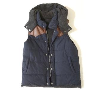 RAGEBLUE - RAGEBLUE ジャケット ベスト 中綿 ニット リバーシブル