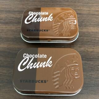 スターバックスコーヒー(Starbucks Coffee)のスターバックス チョコレートチャンク ケース2個セット(その他)