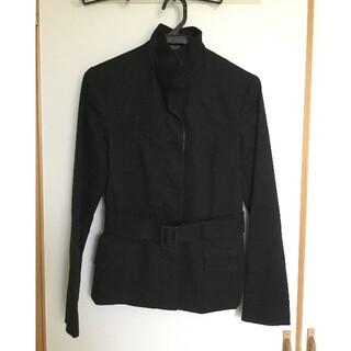ミッシェルクラン(MICHEL KLEIN)の【MICHEL KLEIN】ショート丈 コート ジャケット 黒(テーラードジャケット)