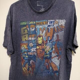 マーベル(MARVEL)のMARVEL Tシャツ アメコミ プリント(Tシャツ/カットソー(半袖/袖なし))