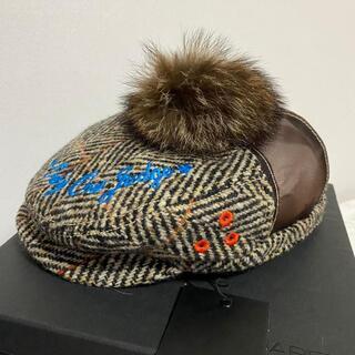 ディースクエアード(DSQUARED2)の【激レア】DSQUARED2 dsquared2 ベレー帽 キャスケット 帽子(ニット帽/ビーニー)