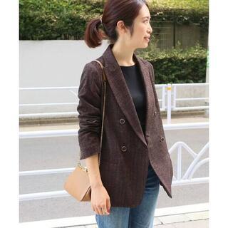 イエナ(IENA)の新品 定価¥40,000 IENA イエナ モールダブル ブレストジャケット(テーラードジャケット)