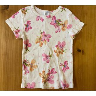 hakka kids - ハッカキッズ  アズーロドットプリント半袖Tシャツ サイズ110