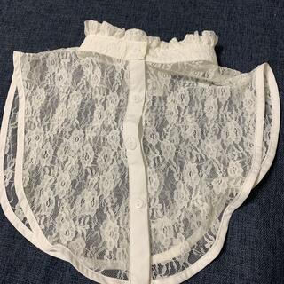 ウィゴー(WEGO)のWEGO レース つけ襟 ホワイト(つけ襟)