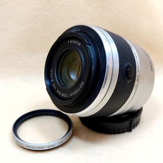 ニコン(Nikon)の望遠 Nikon 1 NIKKOR 30-110mm シルバー(レンズ(ズーム))