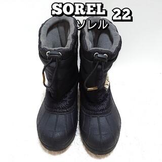 SOREL - 【人気ブランド!!】SOREL ソレル NY1824 スノーコマンダーユース22