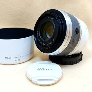 ニコン(Nikon)の望遠 Nikon 1 NIKKOR 30-110mm ホワイト(レンズ(ズーム))