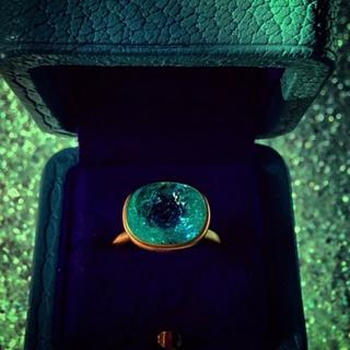 ドゥロワー(Drawer)のマリーエレーヌドゥタイヤック パライバリング(リング(指輪))