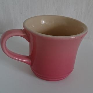 ルクルーゼ(LE CREUSET)のLE CREUSET ル・クルーゼ マグカップ ピンク(グラス/カップ)