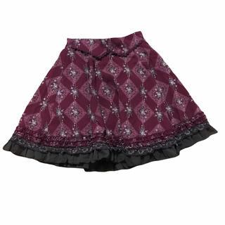 アクシーズファム(axes femme)のaxes femme アクシーズファム薔薇スカート M(ミニスカート)