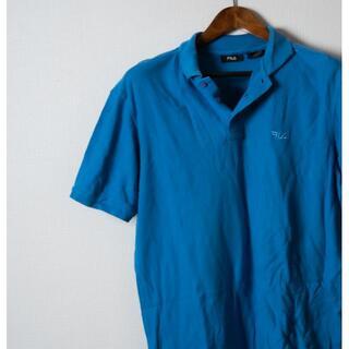 フィラ(FILA)のFILA フィラ ポロシャツ 青(ポロシャツ)