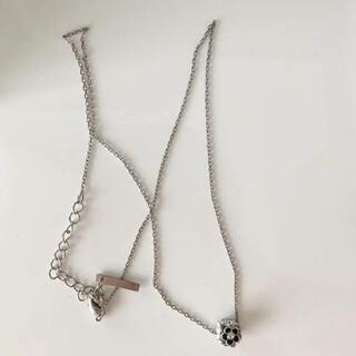 マリークワント(MARY QUANT)のネックレス、マリークワント、mary quant、ブラックホワイト(ネックレス)