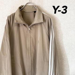 ワイスリー(Y-3)の希少 Y-3 ワイスリー ブルゾン トラックジャケット 初期 刺繍 古着 M(ブルゾン)