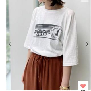 アパルトモンドゥーズィエムクラス(L'Appartement DEUXIEME CLASSE)のL'Appartement 【Americana/アメリカーナ】Half Sle(Tシャツ(長袖/七分))