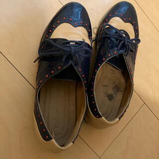 シェルターオリジナル(Shel'tter ORIGINAL)のバイカラーシューズ(ローファー/革靴)