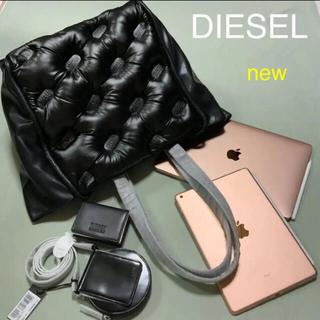 ディーゼル(DIESEL)の上質で洗練されたデザイン DIESEL  DUKKA トートバック ブラック(トートバッグ)