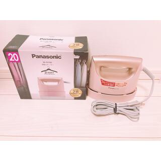 Panasonic - Panasonic 衣類スチーマー NI-FS750-PN
