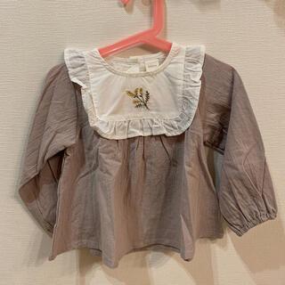 シマムラ(しまむら)のテータテート バースデイ 90cm  ブラウス チュニック(Tシャツ/カットソー)