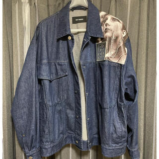 RAF SIMONS - raf simons  19ss denim jacket size s