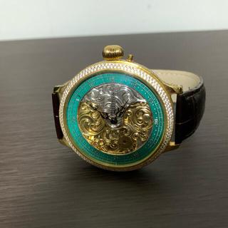 ティファニー(Tiffany & Co.)のTiffany×Patek Philippe Wネーム 手巻き スケルトン腕時計(腕時計(アナログ))