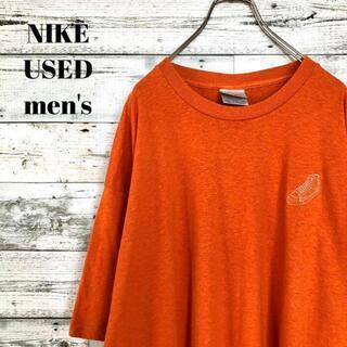 ナイキ(NIKE)のUS輸入 NIKE メンズ 半袖Tシャツ 胸プリント ゆるだぼ XL(Tシャツ/カットソー(半袖/袖なし))