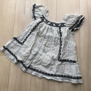 ザラキッズ(ZARA KIDS)のzara baby 刺繍 ワンピース ♡(ワンピース)
