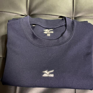 MIZUNO - ミズノ⭐︎MIZUNO⭐︎アンダーシャツ丸首半袖160⭐︎紺色