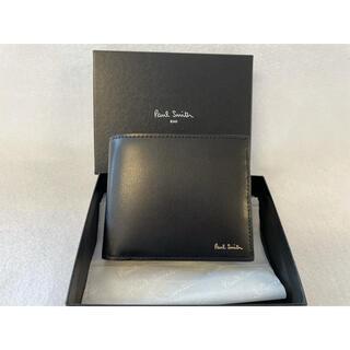 Paul Smith - Paul Smith ポールスミス 二つ折り財布 ブラック 新品未使用品