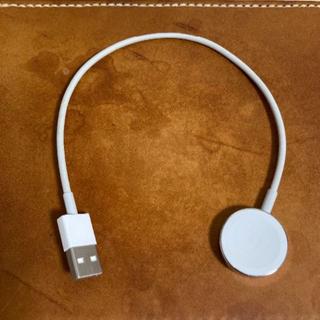 アップルウォッチ(Apple Watch)のアップル純正 Apple Watch磁気充電ケーブルType-A(バッテリー/充電器)