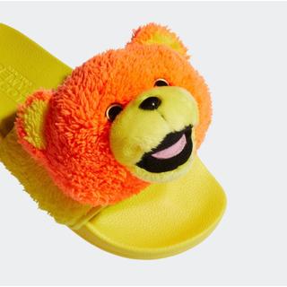 アディダス(adidas)のジェレミー スコット アディレッタ テディサンダル 24.5cm(サンダル)