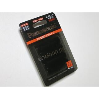 パナソニック(Panasonic)のエネループ プロ 単3形 ハイエンド充電池 4本パック  BK-3HCD/4C(その他)