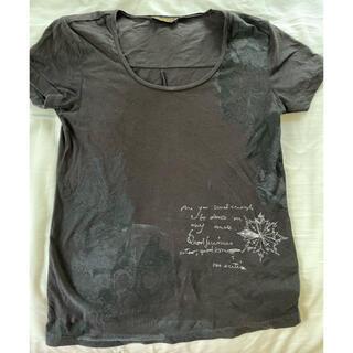 ディーゼル(DIESEL)のDIESEL BLACKGOLD Tシャツ 黒 XXS(Tシャツ(半袖/袖なし))