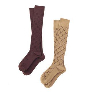 ドゥーズィエムクラス(DEUXIEME CLASSE)のDeuxieme Classe jacquard socks   2枚セット (ソックス)
